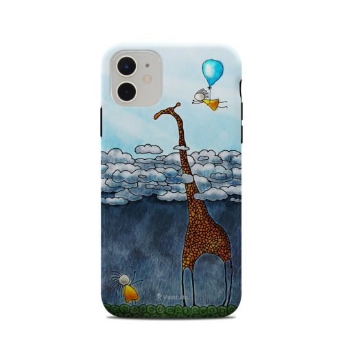 Above The Clouds iPhone 11 Clip Case