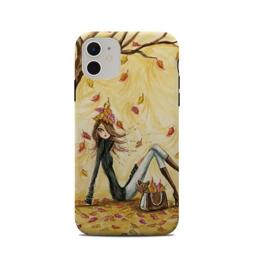 Autumn Leaves iPhone 11 Clip Case