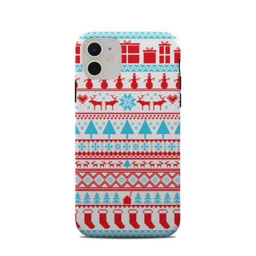 Comfy Christmas iPhone 11 Clip Case