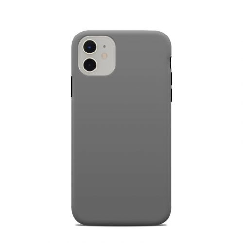 Solid State Grey iPhone 11 Clip Case