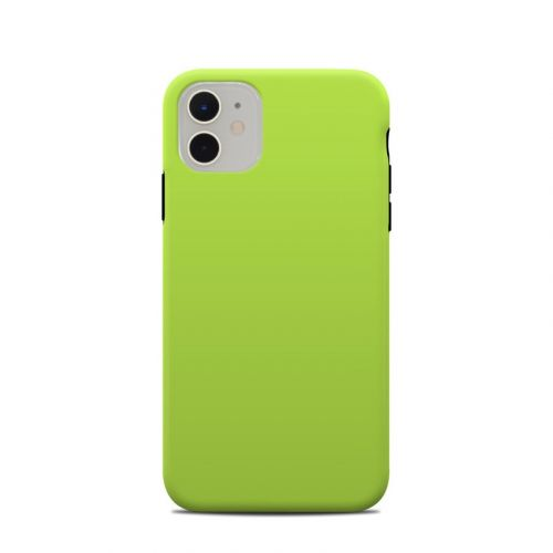 Solid State Lime iPhone 11 Clip Case
