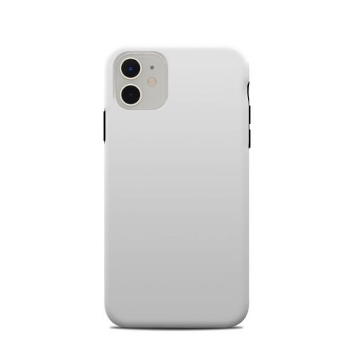 Solid State White iPhone 11 Clip Case