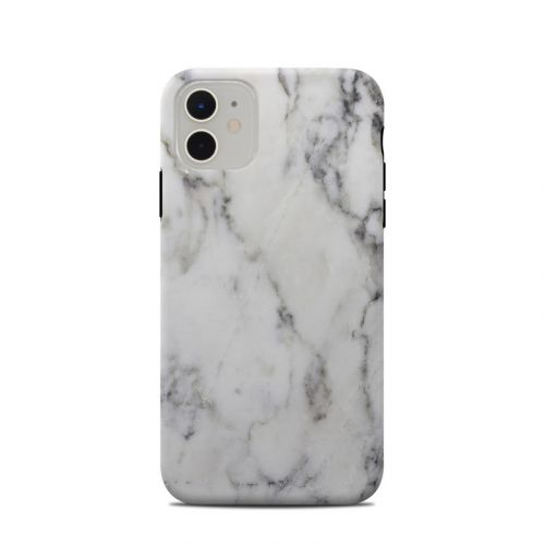 White Marble iPhone 11 Clip Case