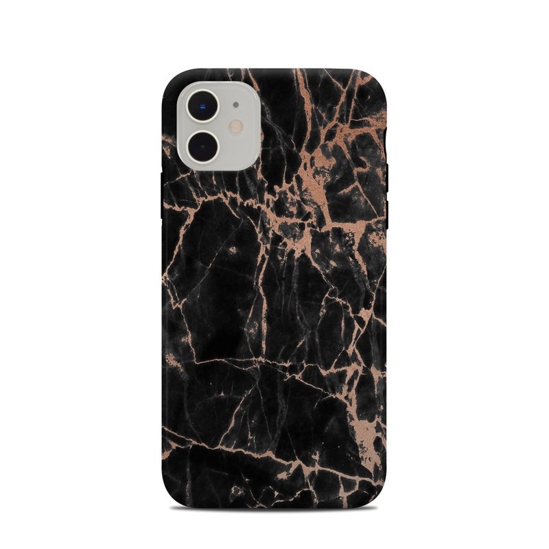 iPhone 11 Clip Case design of Branch, Black, Twig, Tree, Brown, Sky, Atmosphere, Plant, Winter, Night with black, pink colors