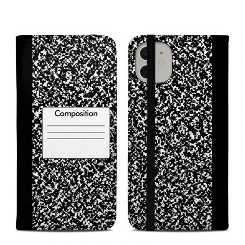 Composition Notebook iPhone 11 Folio Case