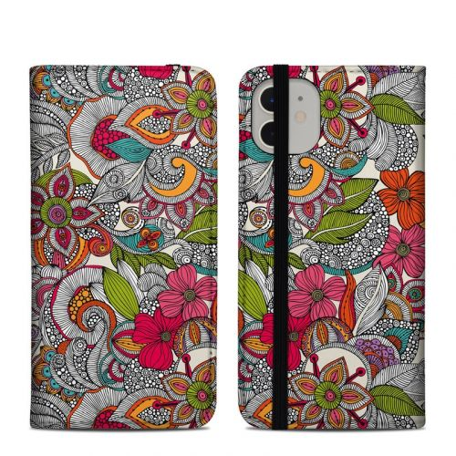 Doodles Color iPhone 11 Folio Case