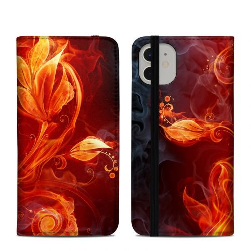 Flower Of Fire iPhone 11 Folio Case