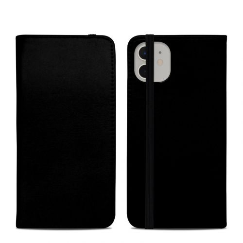 Solid State Black iPhone 11 Folio Case