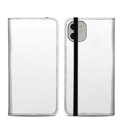 Solid State White iPhone 11 Folio Case