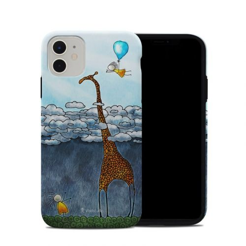 Above The Clouds iPhone 11 Hybrid Case