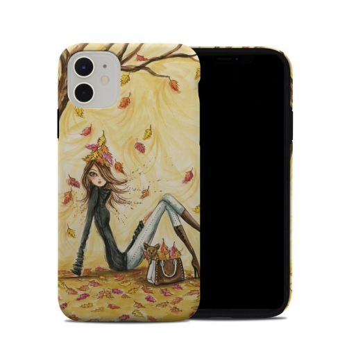 Autumn Leaves iPhone 11 Hybrid Case