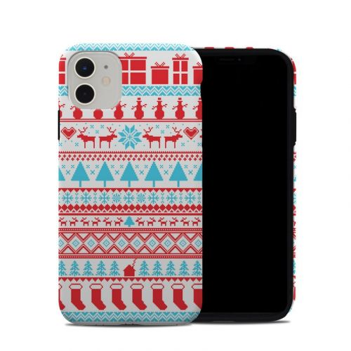 Comfy Christmas iPhone 11 Hybrid Case