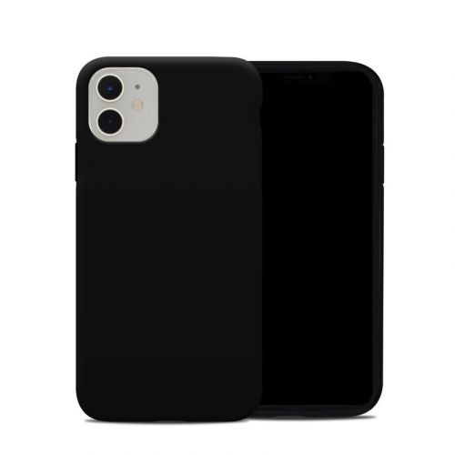 Solid State Black iPhone 11 Hybrid Case