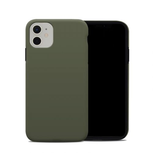 Solid State Olive Drab iPhone 11 Hybrid Case