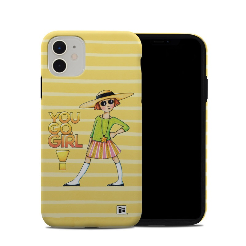 iPhone 11 Hybrid Case design of Cartoon, Illustration, Clip art, Art with orange, pink, yellow, green, gray, black colors