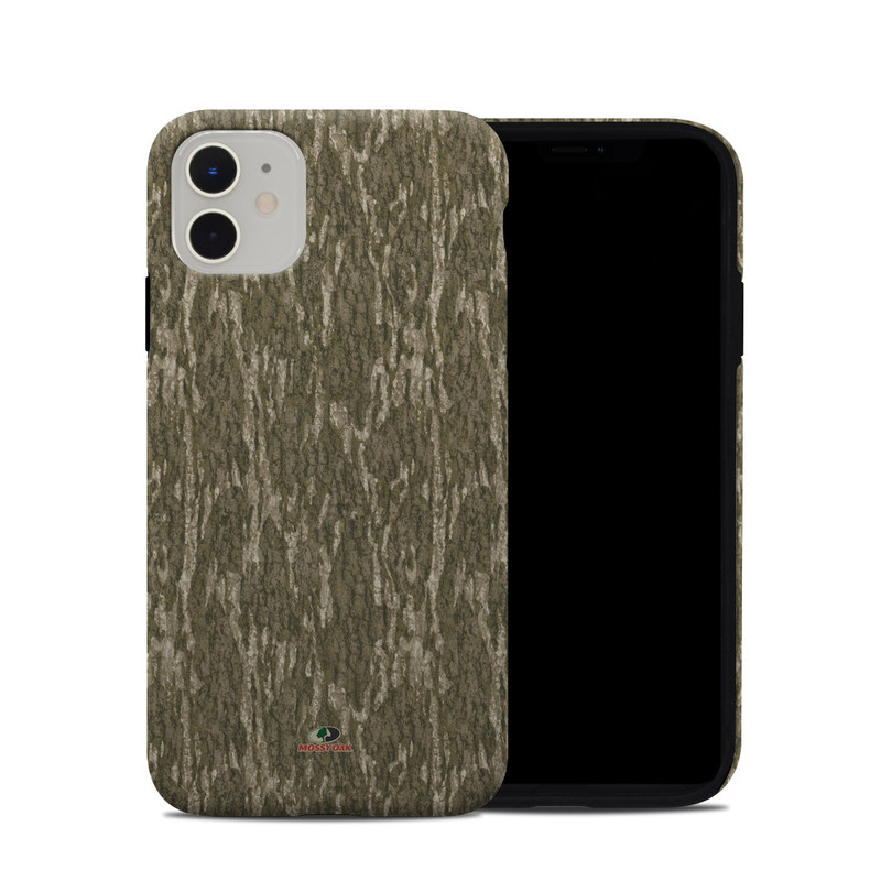 iPhone 11 Hybrid Case design of Grass, Brown, Grass family, Plant, Soil with black, red, gray colors