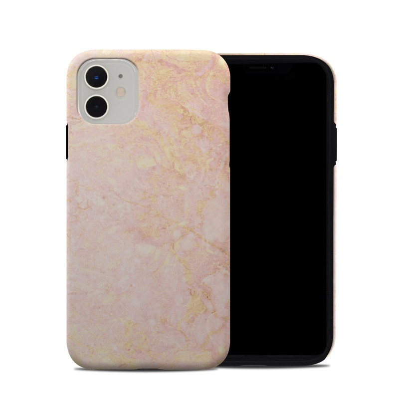 Rose Gold Marble Iphone 11 Hybrid Case Istyles