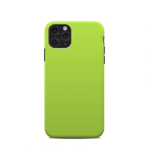 Solid State Lime iPhone 11 Pro Clip Case
