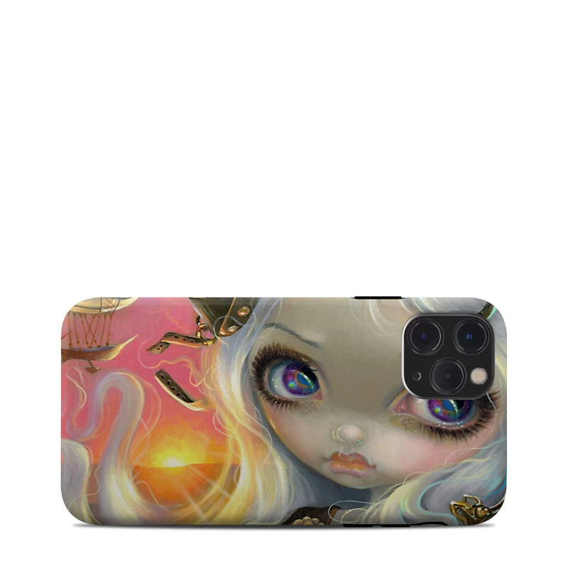 iPhone 11 Pro Clip Case design of Illustration, Cg artwork, Fictional character, Art, Mythology, Doll with gray, black, green, red, purple colors