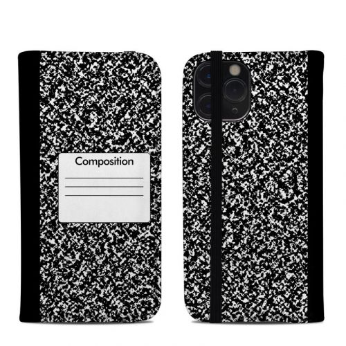 Composition Notebook iPhone 11 Pro Folio Case