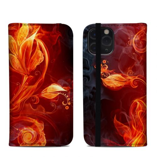 Flower Of Fire iPhone 11 Pro Folio Case