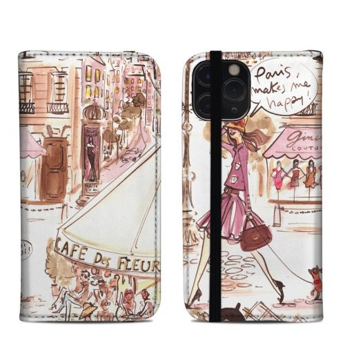 Paris Makes Me Happy iPhone 11 Pro Folio Case