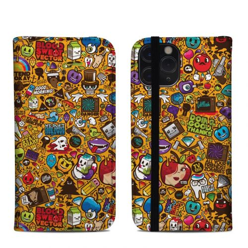 Psychedelic iPhone 11 Pro Folio Case