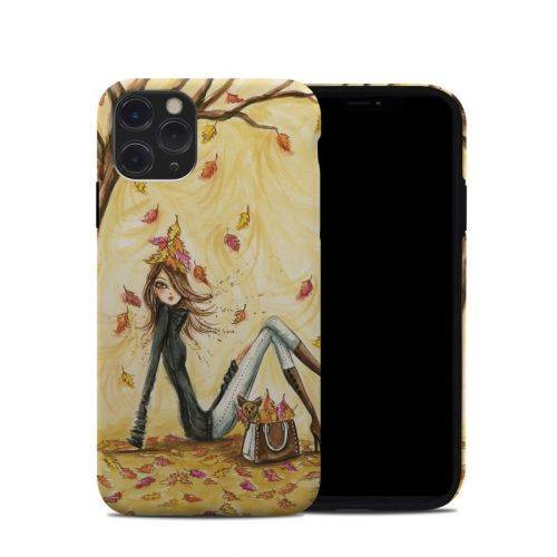 Autumn Leaves iPhone 11 Pro Hybrid Case
