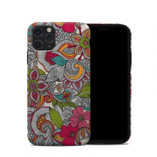 Doodles Color iPhone 11 Pro Hybrid Case