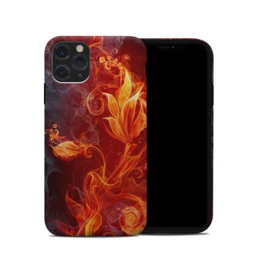 Flower Of Fire iPhone 11 Pro Hybrid Case