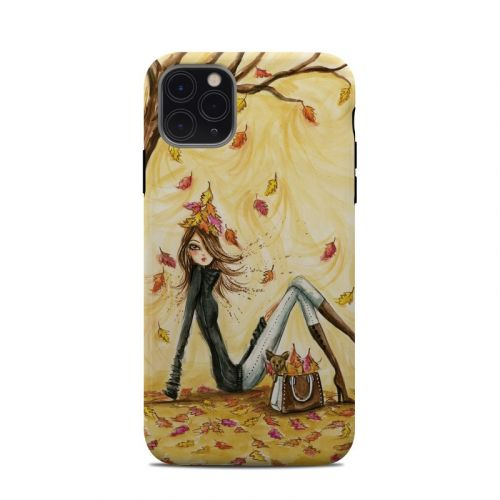 Autumn Leaves iPhone 11 Pro Max Clip Case