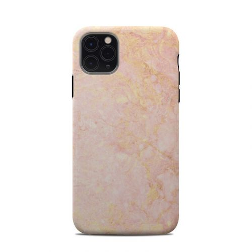 Rose Gold Marble iPhone 11 Pro Max Clip Case