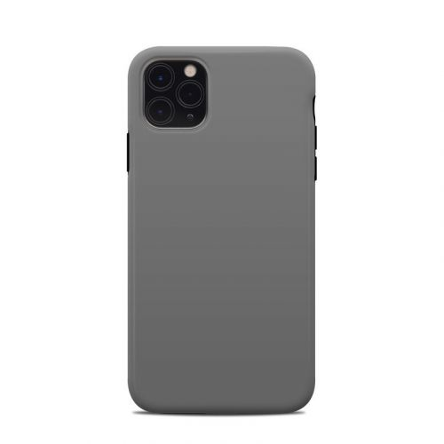 Solid State Grey iPhone 11 Pro Max Clip Case