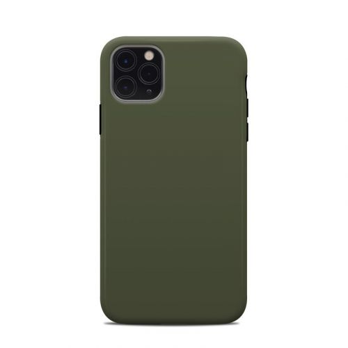 Solid State Olive Drab iPhone 11 Pro Max Clip Case