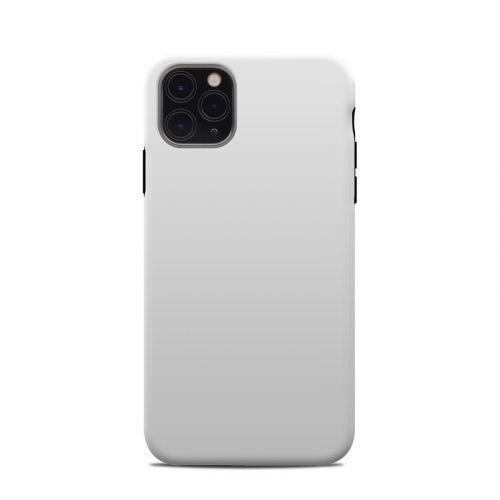 Solid State White iPhone 11 Pro Max Clip Case