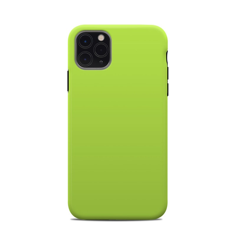 iPhone 11 Pro Max Clip Case design of Green, Yellow, Text, Leaf, Font, Grass with green colors