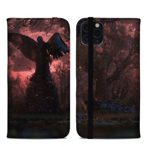 Black Angel iPhone 11 Pro Max Folio Case
