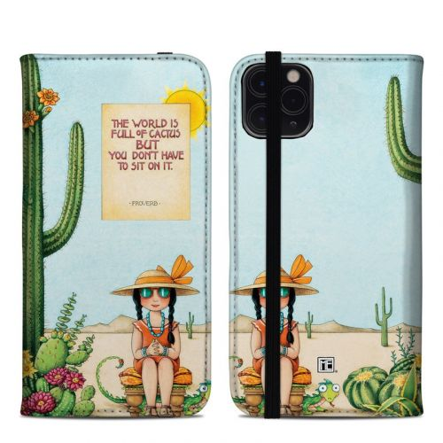 Cactus iPhone 11 Pro Max Folio Case