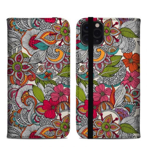 Doodles Color iPhone 11 Pro Max Folio Case