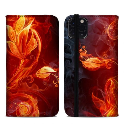 Flower Of Fire iPhone 11 Pro Max Folio Case