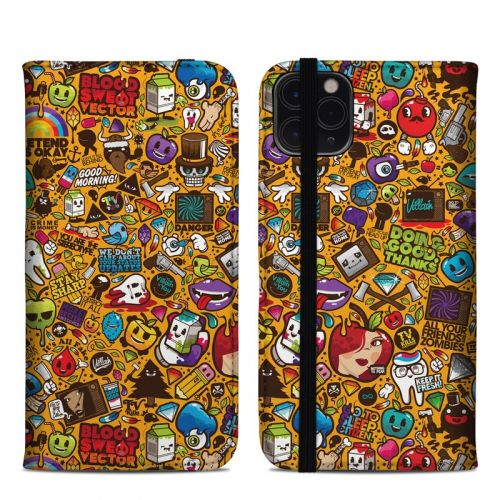 Psychedelic iPhone 11 Pro Max Folio Case