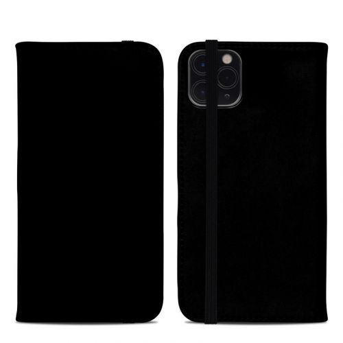 Solid State Black iPhone 11 Pro Max Folio Case