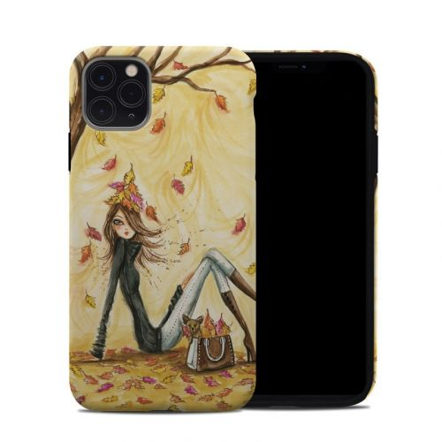 Autumn Leaves iPhone 11 Pro Max Hybrid Case