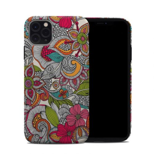 Doodles Color iPhone 11 Pro Max Hybrid Case