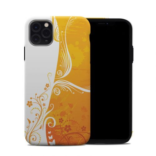 Orange Crush iPhone 11 Pro Max Hybrid Case