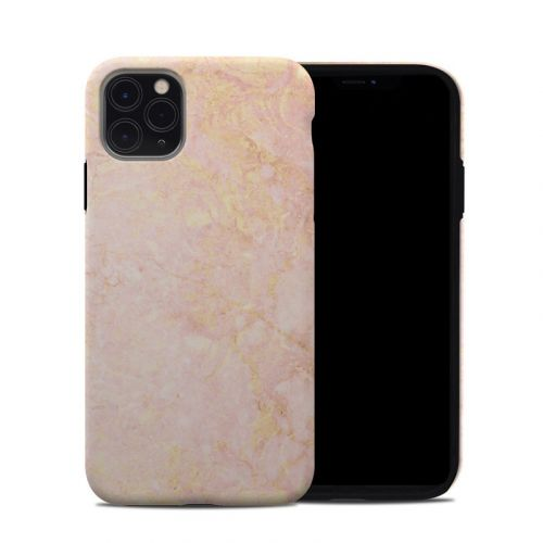 Rose Gold Marble iPhone 11 Pro Max Hybrid Case