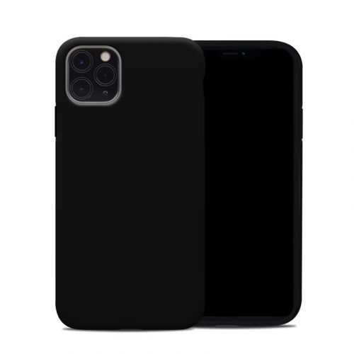 Solid State Black iPhone 11 Pro Max Hybrid Case