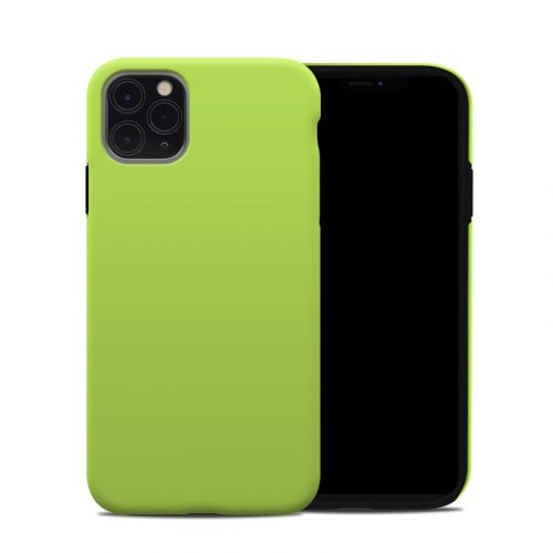 Solid State Lime iPhone 11 Pro Max Hybrid Case