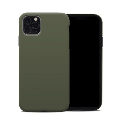 Solid State Olive Drab iPhone 11 Pro Max Hybrid Case