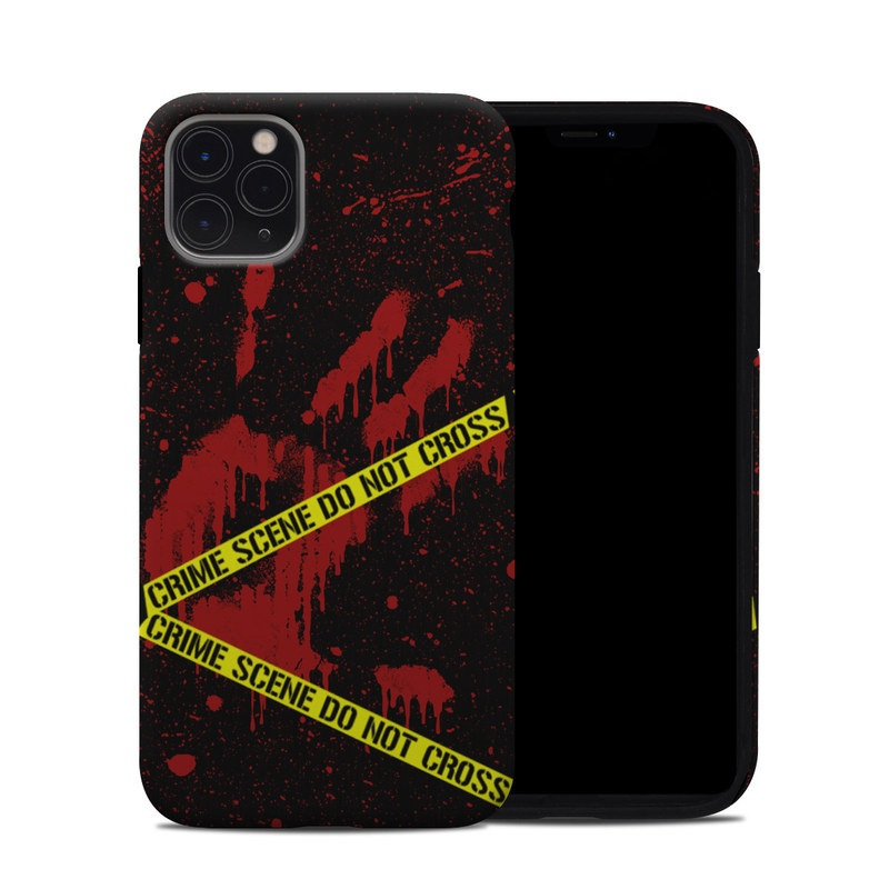 iPhone 11 Pro Max Hybrid Case design of Red, Black, Font, Text, Logo, Graphics, Graphic design, Room, Carmine, Fictional character with black, red, green colors